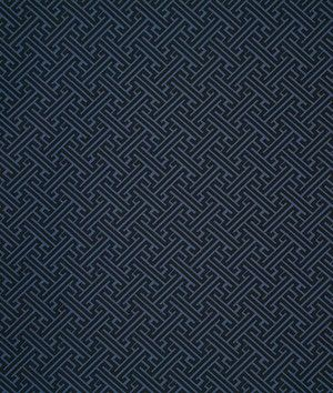 Pindler & Pindler Conrad Indigo Fabric - $40 | onlinefabricstore.net
