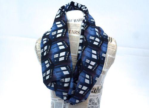 handmade doctor who scarf ♥