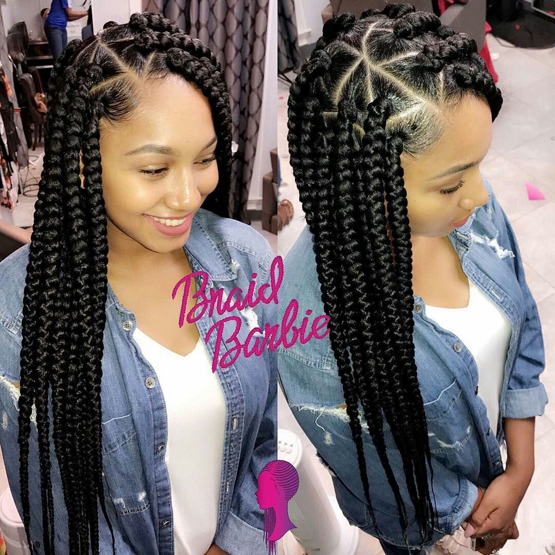 Bbgxloni For Daily Pinz Hair Styles Natural Hair Styles Box Braids Styling