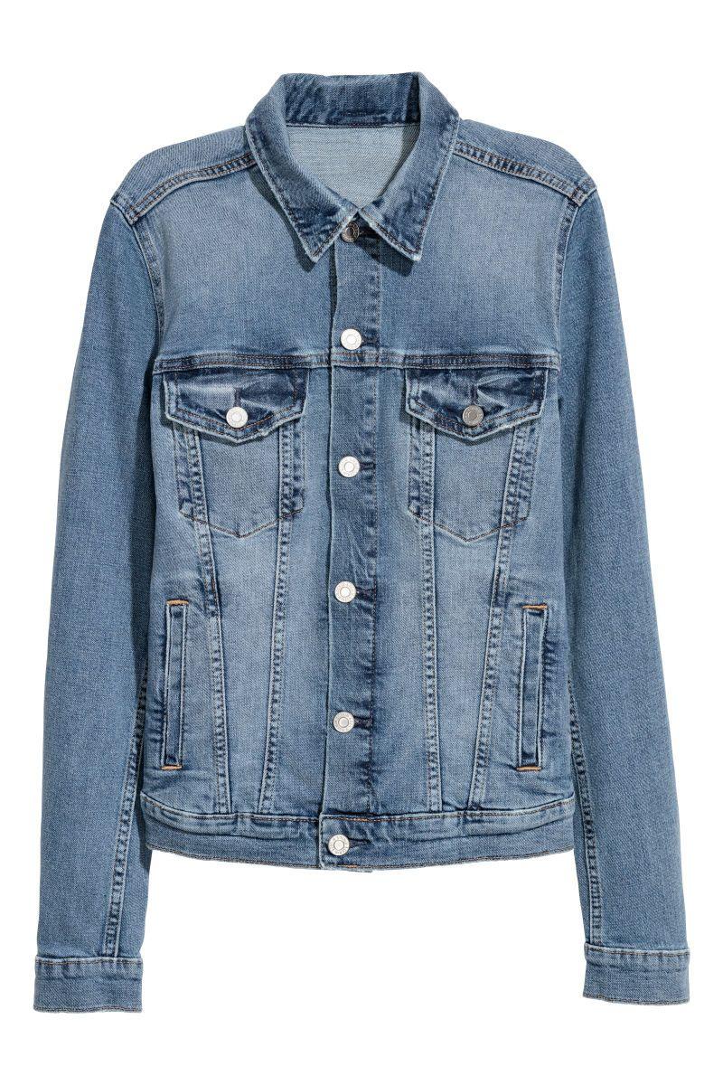 Camisa vaquera oversize | Azul denim | MUJER | H&M MX
