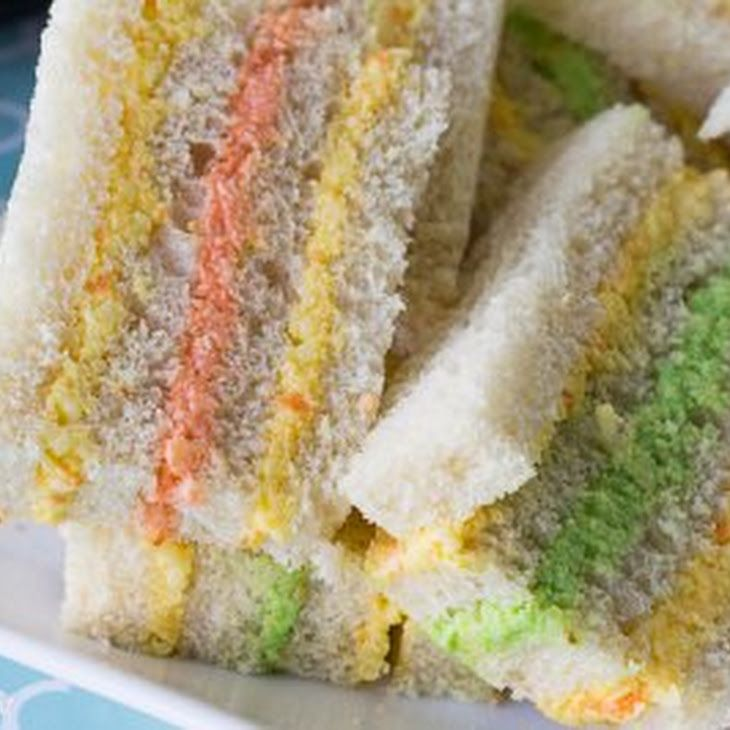Cheese Paste Sandwich Spread Recipe with grating cheese, medium carrot, mayonnaise, butter, onions, pepper sauce, mustard, food colouring