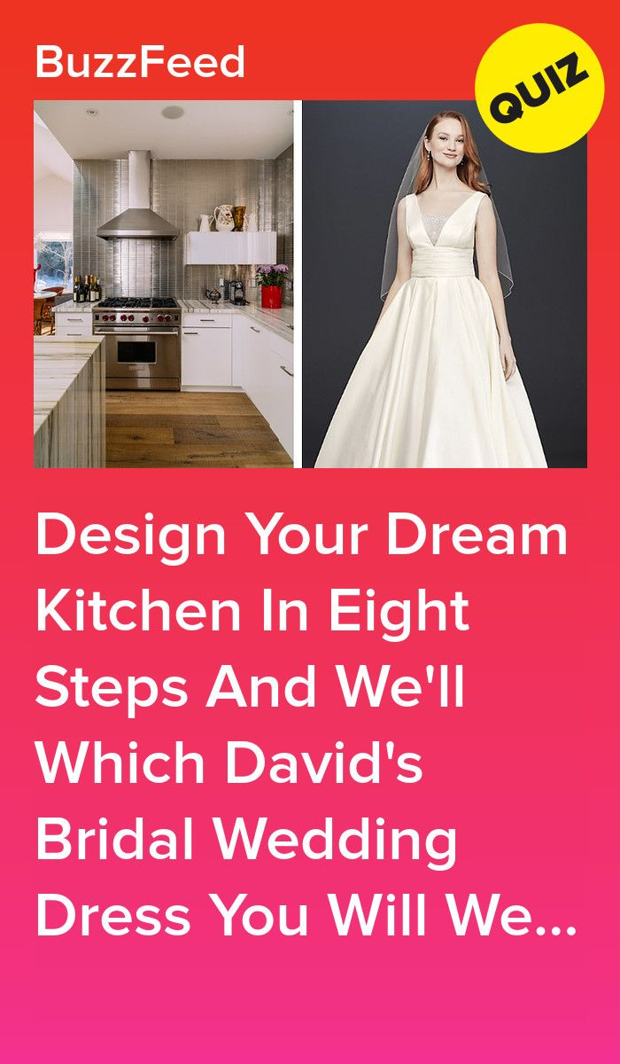 Build Your Dream Kitchen And We Ll Reveal Which David S