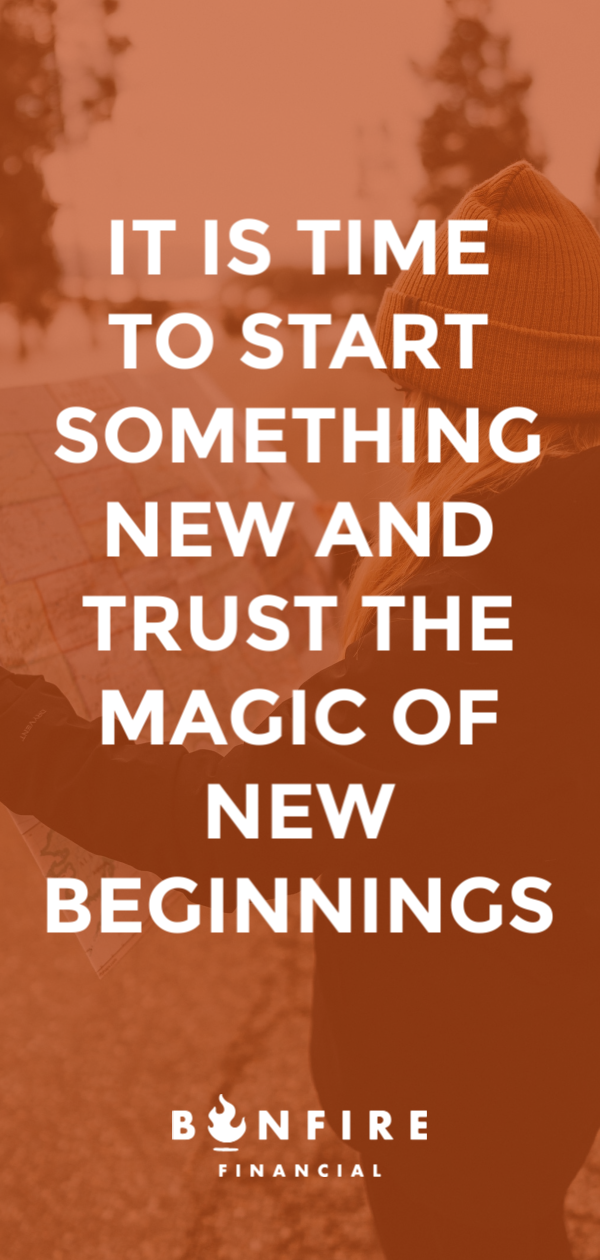 new year new you whether it s starting a new hobby a new job