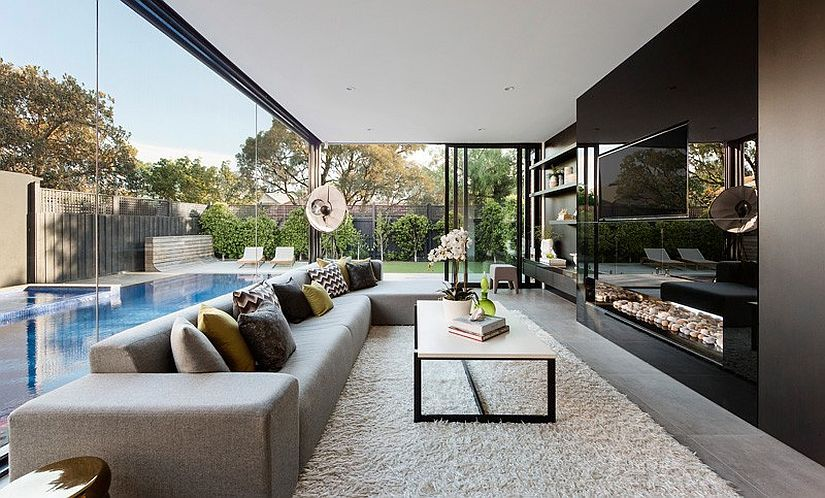 Home Interior Designers Melbourne | Melbourne Heritage Home With Posh Extension By Lsa Architects