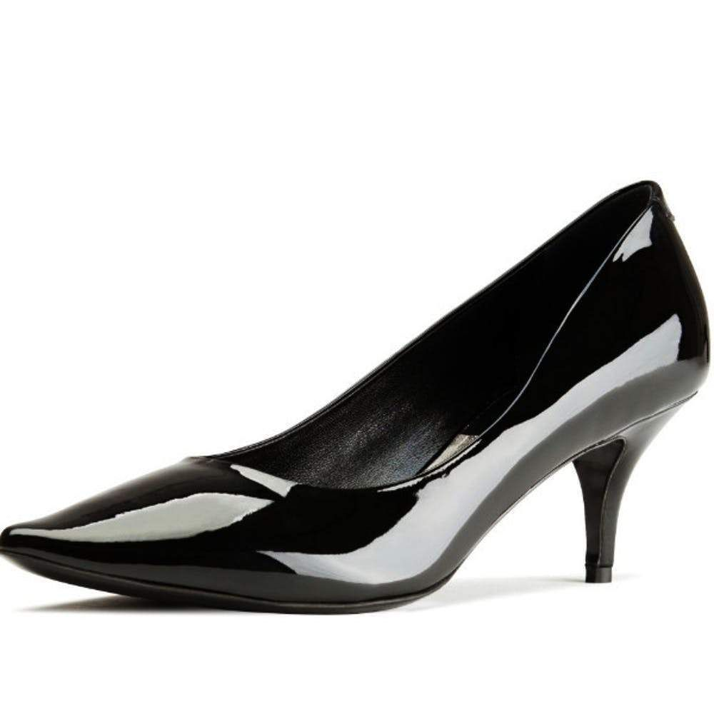 Acne Studios Millie Black Patent Leather Pointed Toe