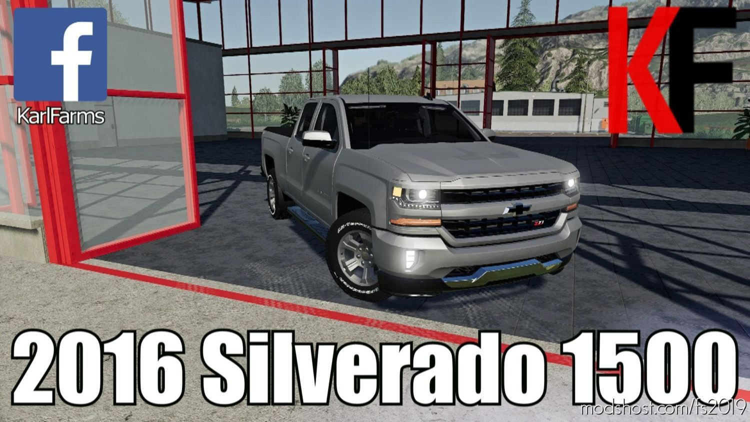 Download Chevrolet Silverado 1500 Mod For Farming Simulator 2019