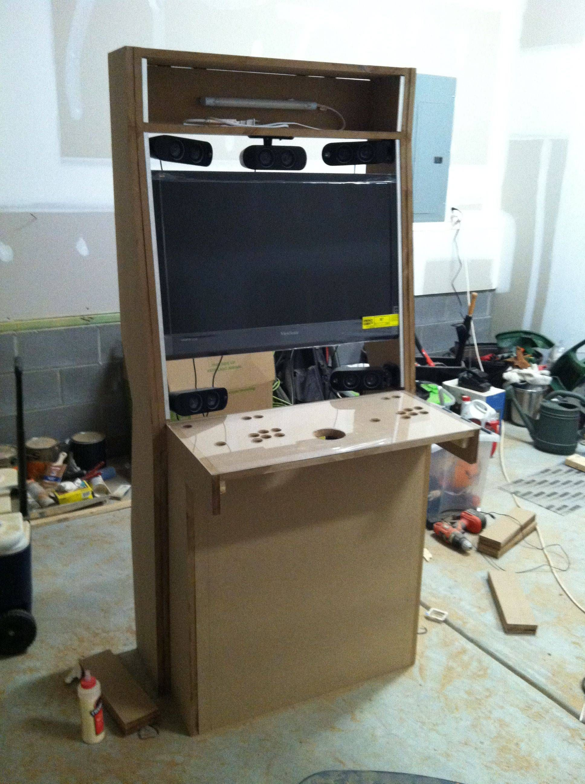 Just finished my Nintendo themed arcade cabinet! | Arcade ...