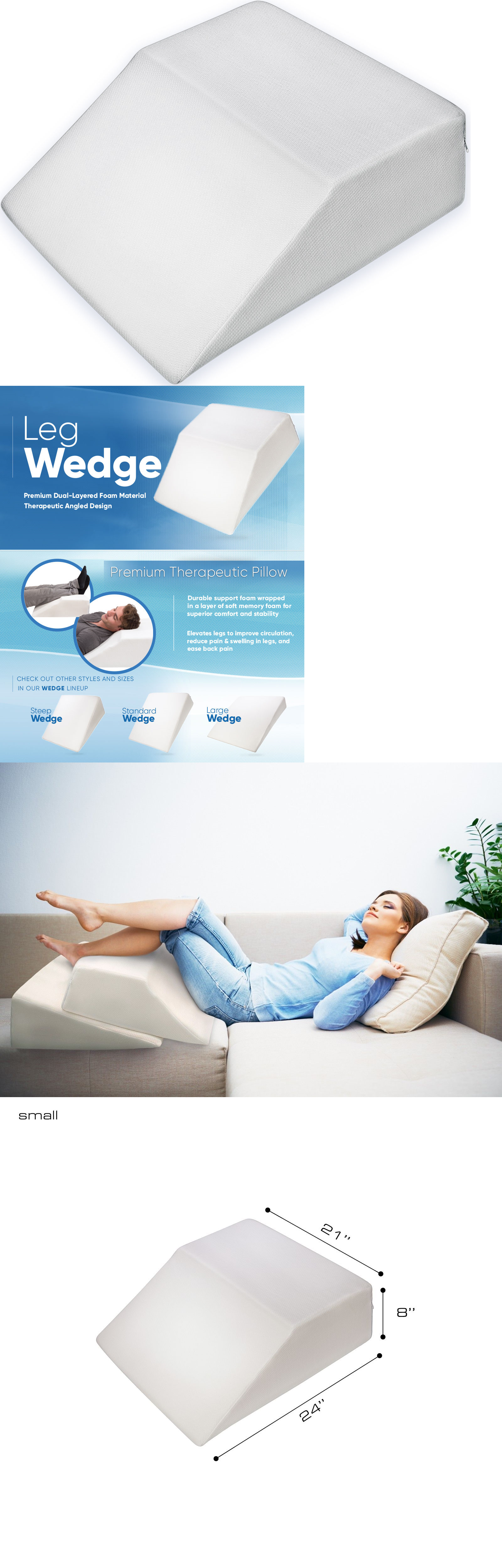 Bed wedge for legs - Wedges And Bed Positioners Pharmedoc Leg Bed Wedge Pillow W Cover Acid Reflux Pain