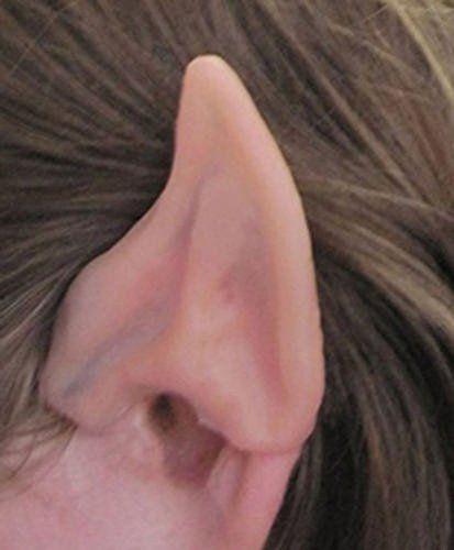 Latex Alien Elf Fairy Goblin Ears Cosplay LARP Unisex