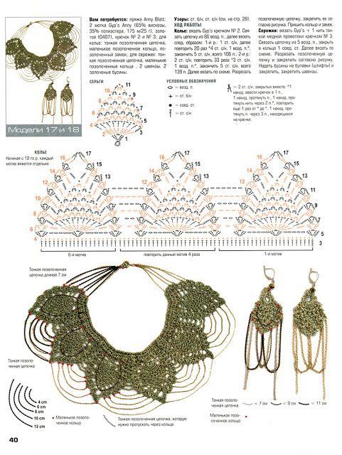Collar babero | Tejido en crochet | Pinterest | Croché, Ganchillo y ...