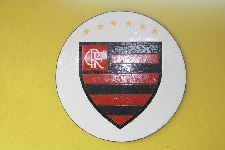 Time de futebol Flamengo em mosaico. #MosaicosPortella #mosaicos #futebol #flamengo