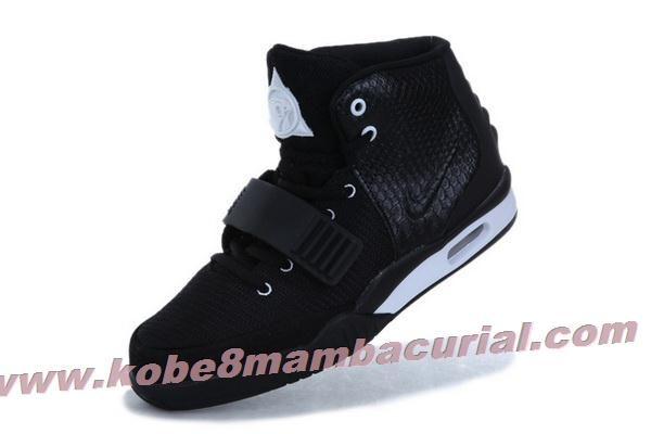 2013 Nike Air Yeezy II Men Shoes Black