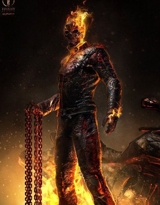 Ghost Rider - Mark Steven Johnson, Nicolas Cage, Eva ... |Ghost Rider Bad Guy Look