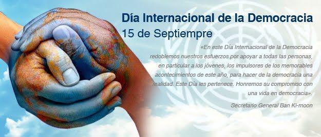 15 de septiembreDía Internacional de la Democracia