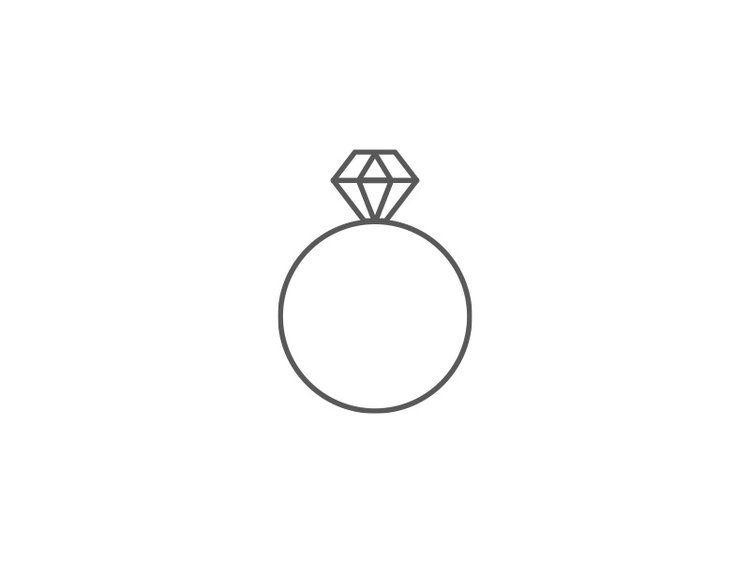 Diamond Ring Thin Line Icon Tadmint Icon Jewelry Ring Icon Wedding Icon