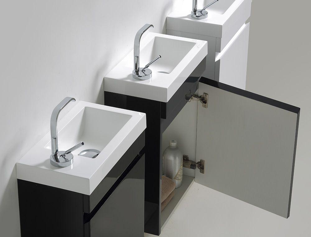 Classic 100 Möbelkombination für kleine Gäste WC CLV390W - MEGABAD ...