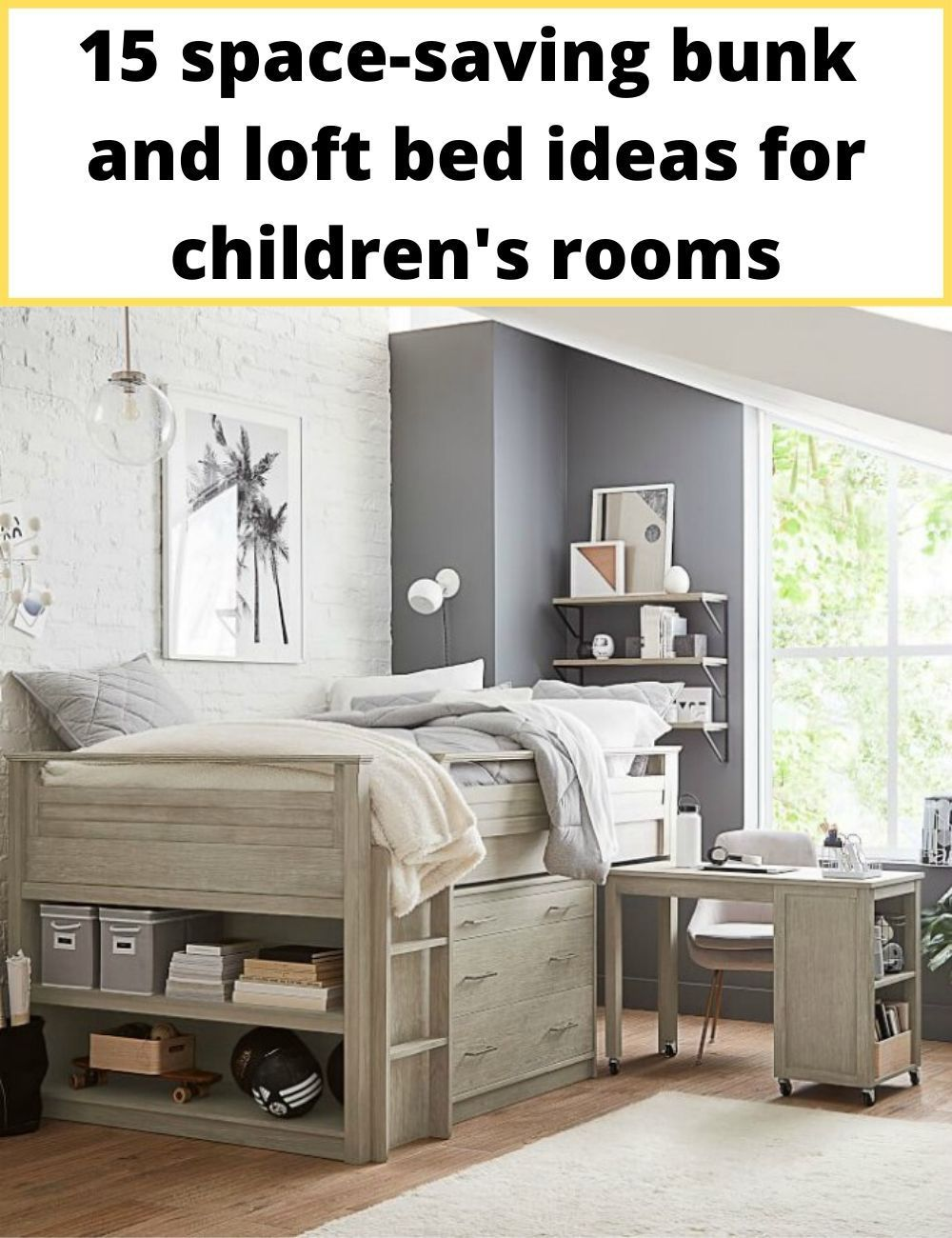 15 spacesaving bunk and loft bed ideas for children's