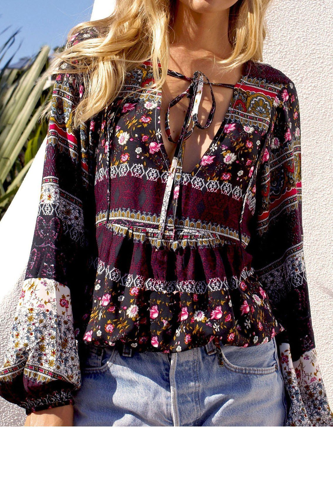 S A L E Stunning 70/'s Vintage Embroidered Rayon Mesh Longsleeve Indian Open Front Top