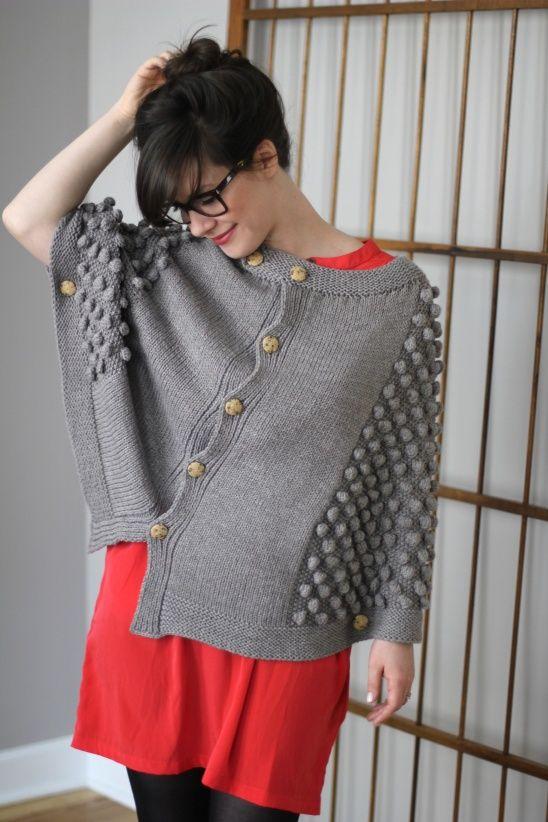El Matador from Sweatshop of Love is our favorite knit cape pattern ...