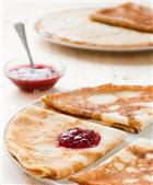 "Karavayzi Pancakes with Peach & Apricot ""S Pilu s Jaru"""