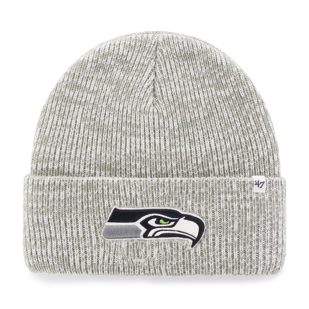 c6729719d2c Adult  47 Brand Seattle Seahawks Brain Freeze Cuffed Knit Cap