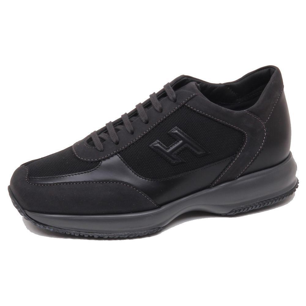 eBay  Sponsored F0632 sneaker uomo black dark grey HOGAN NEW INTERACTIVE  scarpe H 3D shoe man c0f52d928a4