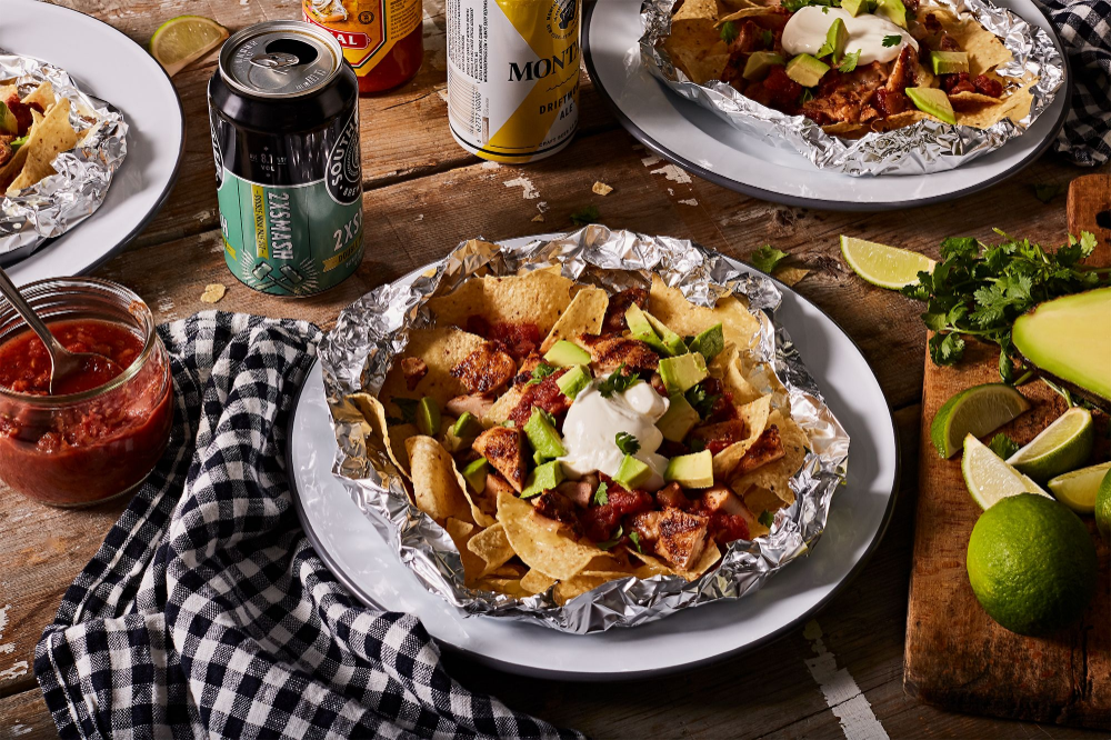 Photo of Grilled Foil-Pack Chicken Nachos  Recipe on Food52