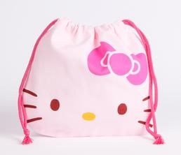 Hello Kitty Draw-String Bag: Face