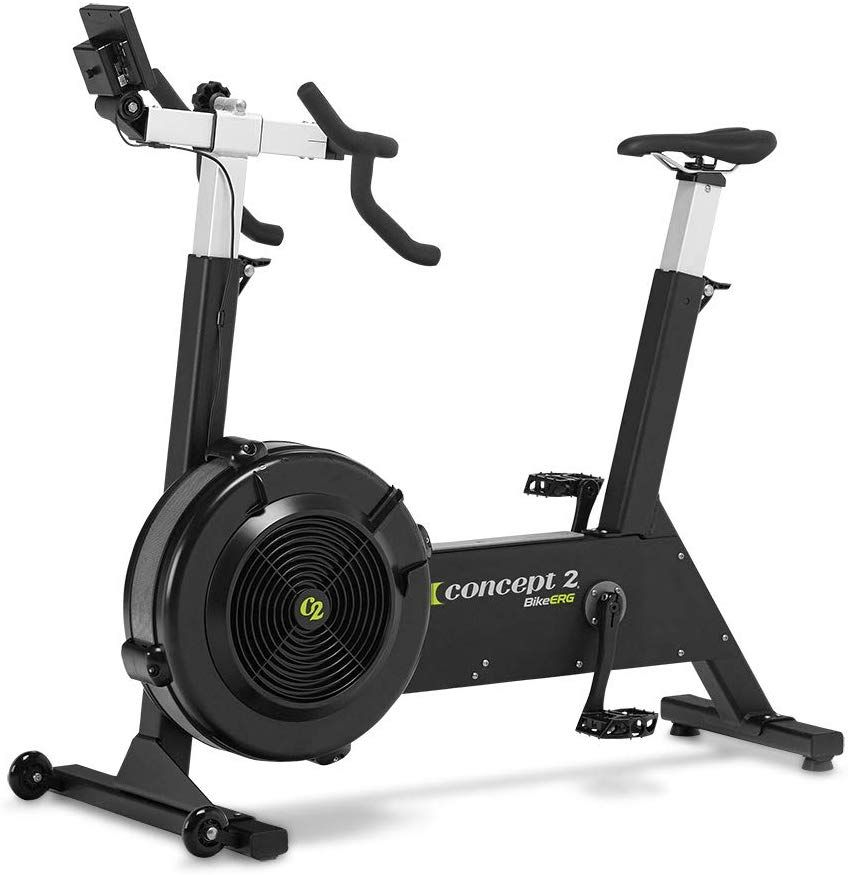 Concept2 Bikeerg With Pm5 Monitor Stationary Exercise Bike With