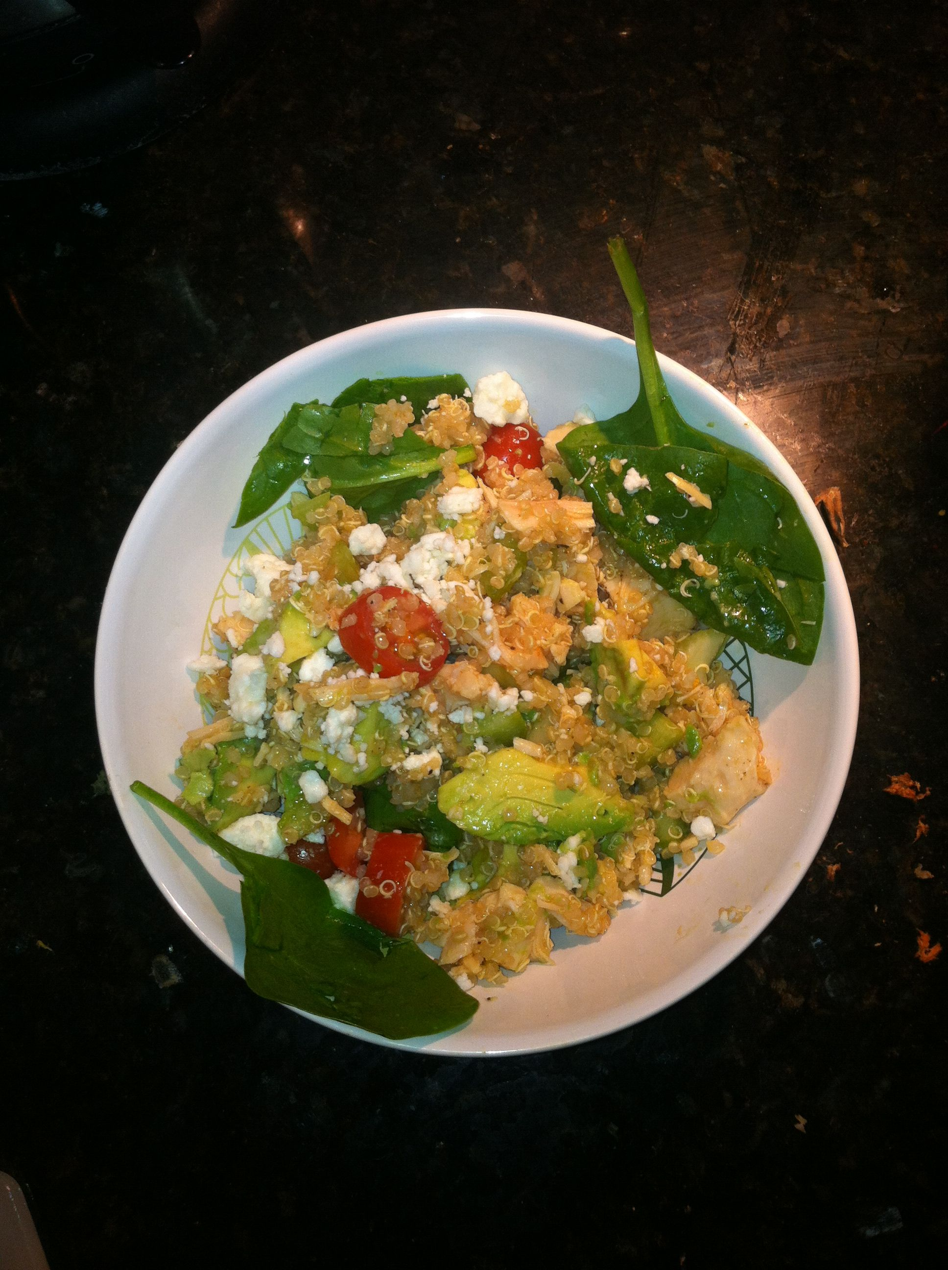 Amazing healthy recipe I came up with! If you love buffalo ...