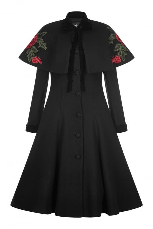 Collectif Vintage Claudia Coat & Cape | The Decadence of
