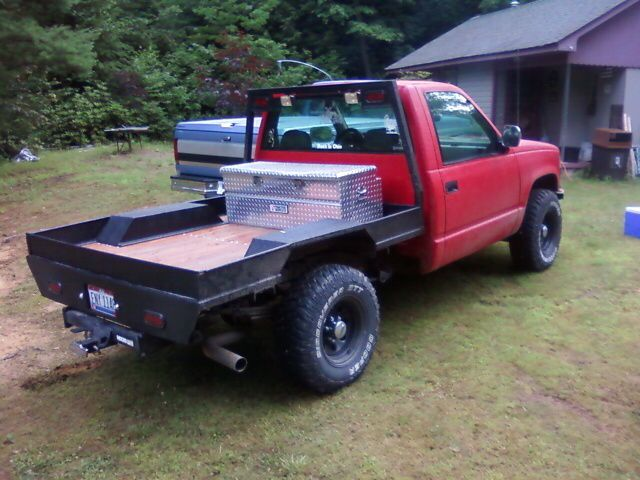 Custom Wood And Steel Flatbed Truck Flatbeds Cool Trucks Gm Trucks