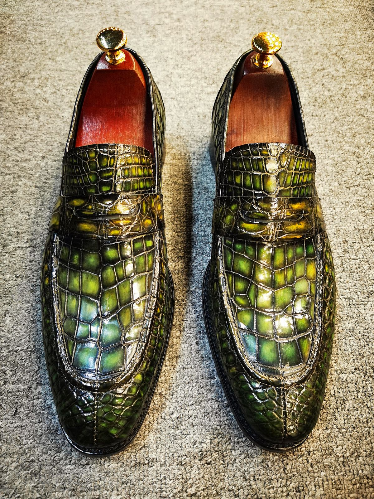 Pin on Exotic Skin Shoes for Men