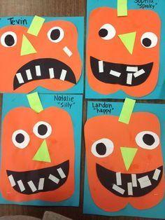 Vorschule Halloween Craft - So macht das Lernen von Formen im Herbst Spaß.,  #craft #Das #for... #halloweencraftsfortoddlers