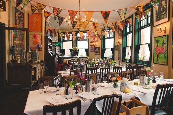 A colourful laid back london pub wedding pub wedding wedding a colourful laid back london pub wedding junglespirit Gallery