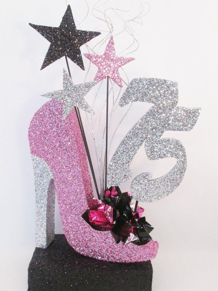 High Heel Shoe Centerpiece - High-heel-shoe-lavender BABY SHOWER Pinterest High Heel