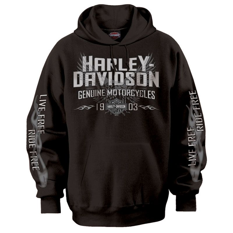 Harley Davidson Mens Throttle Pullover Hoodie Monstermarketplace Com With Images Harley Davidson Clothing Harley Davidson Merchandise Harley Gear