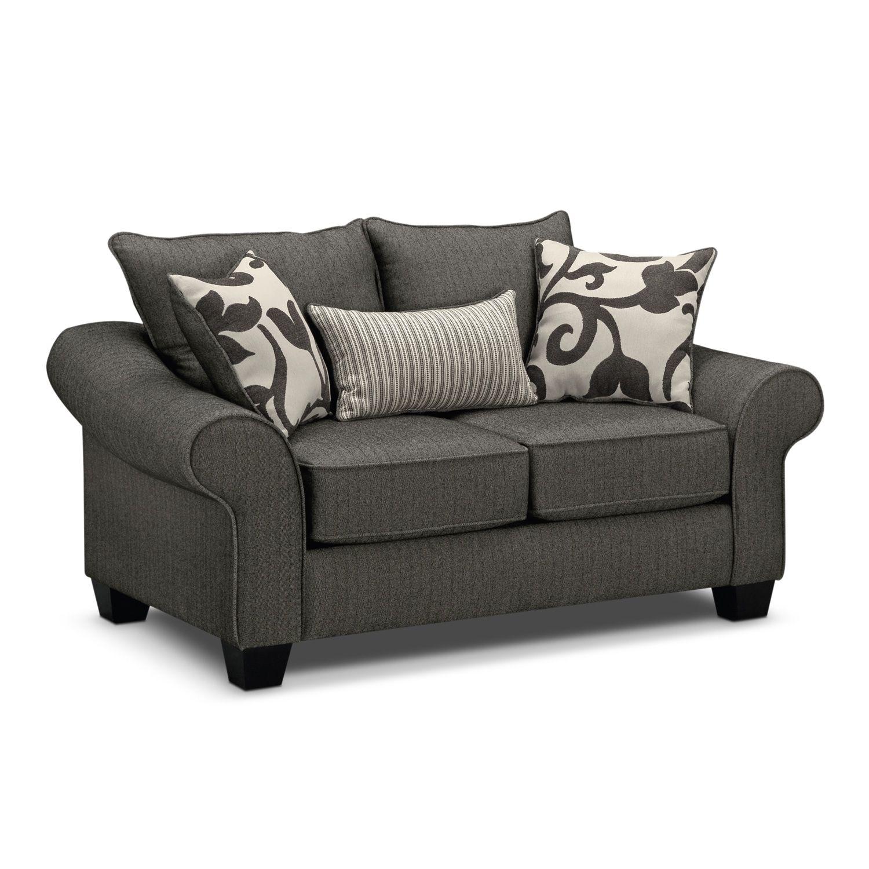 Grey Couch Value City #homedecor #homedecorideas