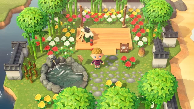 Flower Garden Animal Crossing New Horizons Reddit | Garden ...