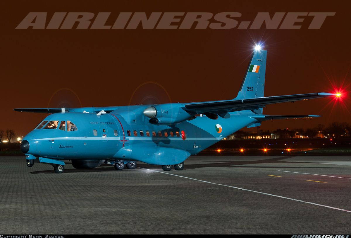 Airtech cnm aircraft picture irish regiments defence