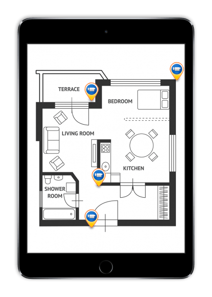 Home Security Camera Placement Diagram Security Cameras For Home Home Security Security Camera