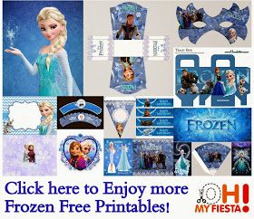 Free Frozen Printables For Birthday Party