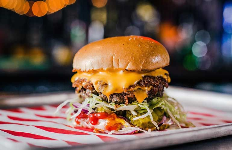 With The Full Range Of Glorious Burgers Taking Over An Abandoned Citron Garage On Upper Street Meat Liquor Islington Opens Re Burger Good Burger London Eats