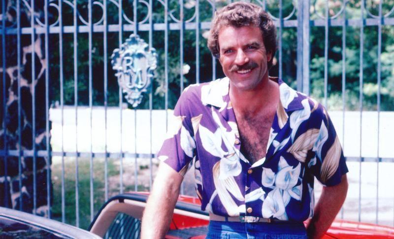 5e5b3d4d9ada77 The Other Magnum PI Hawaiian Shirts | hairy men | Shirts, Magnum pi ...