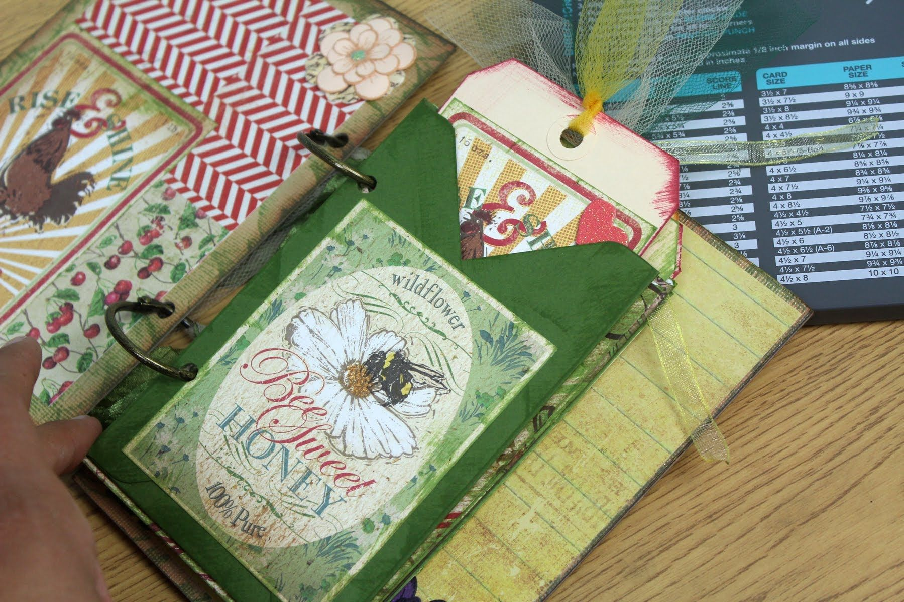 Tag Envelope Tutorial- Using Envelope Punch Board by We R Memory Keepers