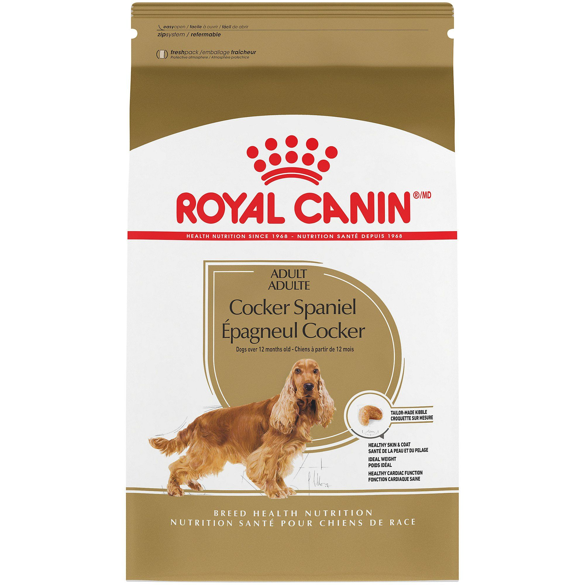 Royal Canin Breed Health Nutrition Cocker Spaniel Adult Dry Dog