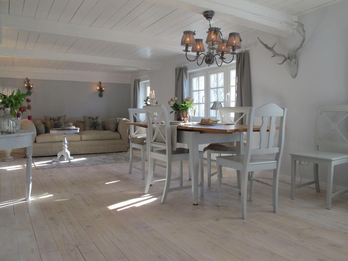 Lichtdurchflutet Das Grosse Wohn Esszimmer Wohnen Ferienhaus Schoner Wohnen