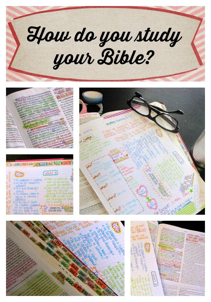 Do you write in your Bible?  Use Inductive Bible Study? SOAP method?  God doesn't care which method we use as long as we are studying His Word!  If you are looking for some help structuring your study time, Farm Girl Journals has prayer journals, Bible tabs and journaling sheets that may help. :)