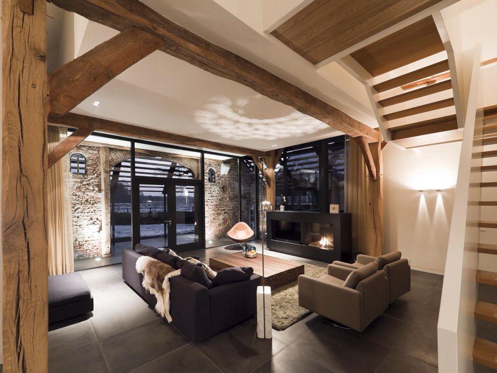 Super dit is de sfeer die we willen cre ren woonkamer for Boerderij interieur ideeen