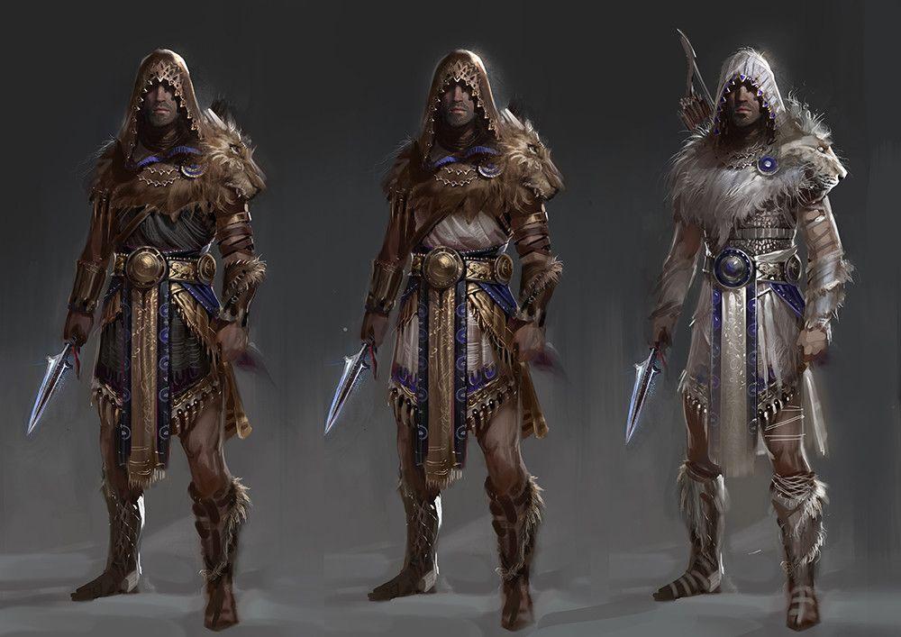 Artstation Nemean Lion Tiger Gabriel Blain Assassins Creed